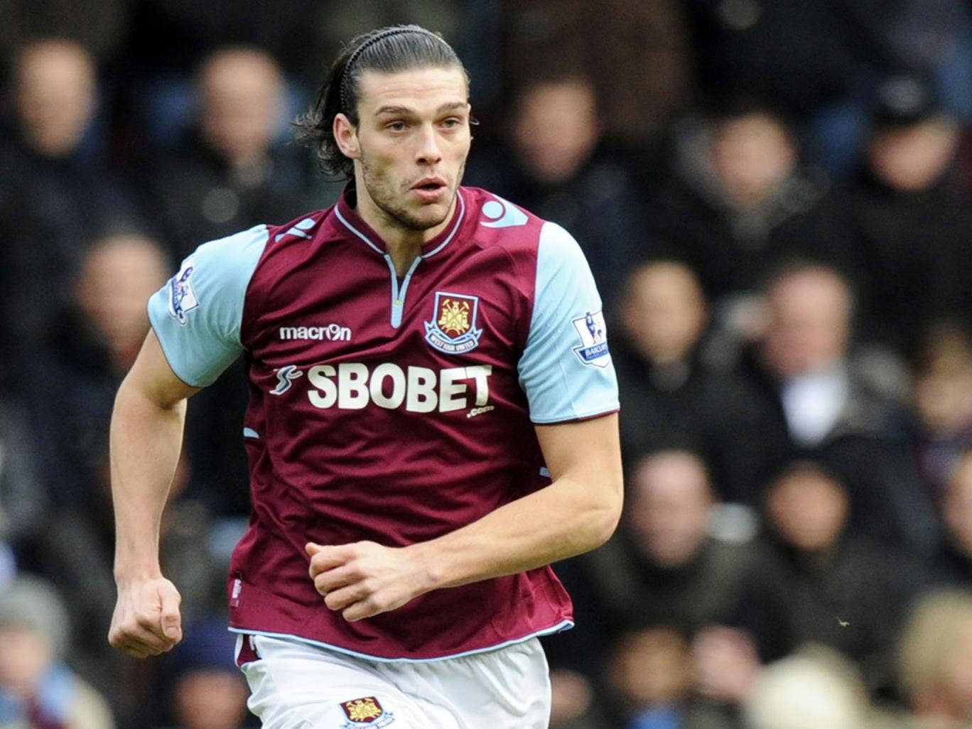 Handy Andy: West Ham are glad to have Andy Carroll back up front