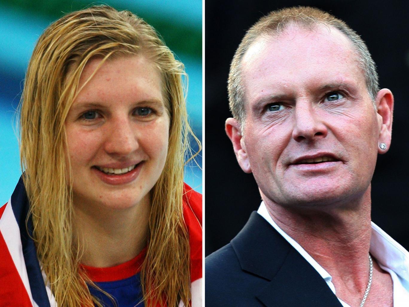 Life after sport: Rebecca Adlington plans to cope, but Paul Gascoigne has struggled