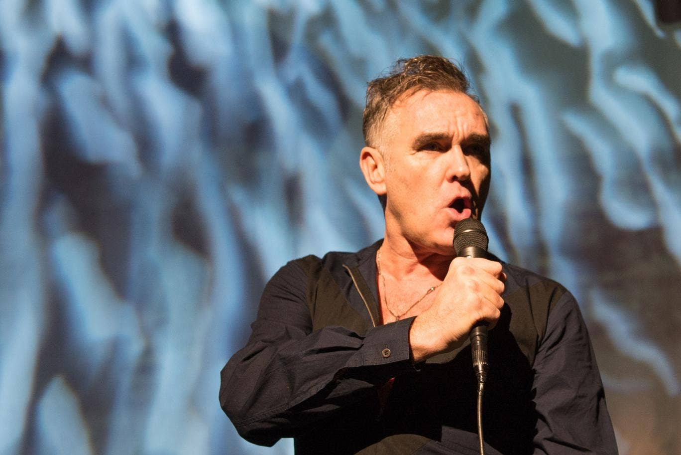 Morrissey is still suffering from a bleeding stomach ulcer and has had to cancel further shows