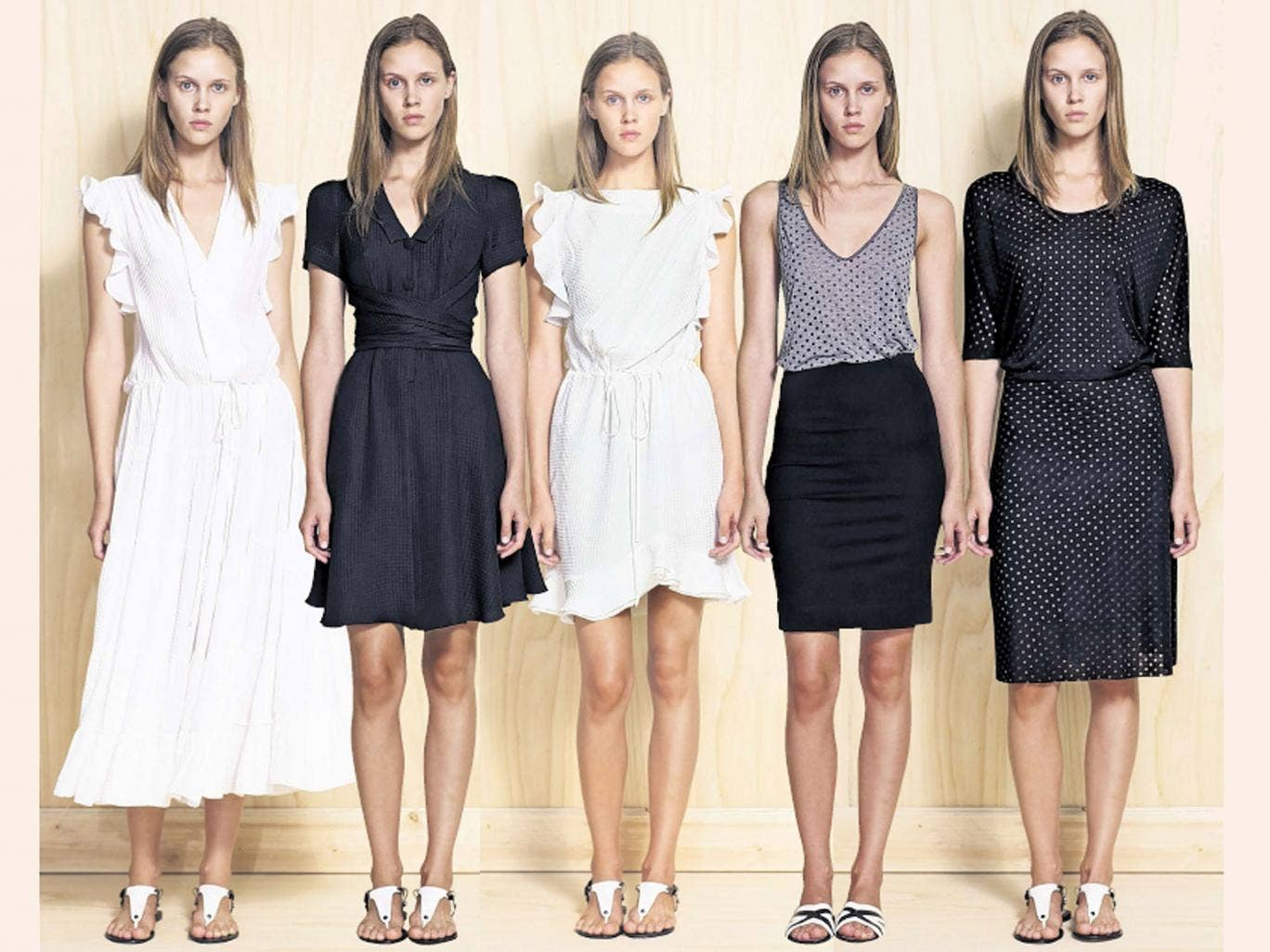 Valley girls: all clothing LA't, prices start from £70, available from Harvey Nichols, 109 - 125 Knightsbridge SW1, 020 7235 5000, harveynichols.com; and Harrods, 87-135 Brompton Road, SW1, 020 7730 1234, harrods.com