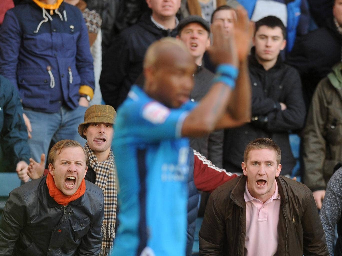 El-Hadji Diouf pictured at Millwall