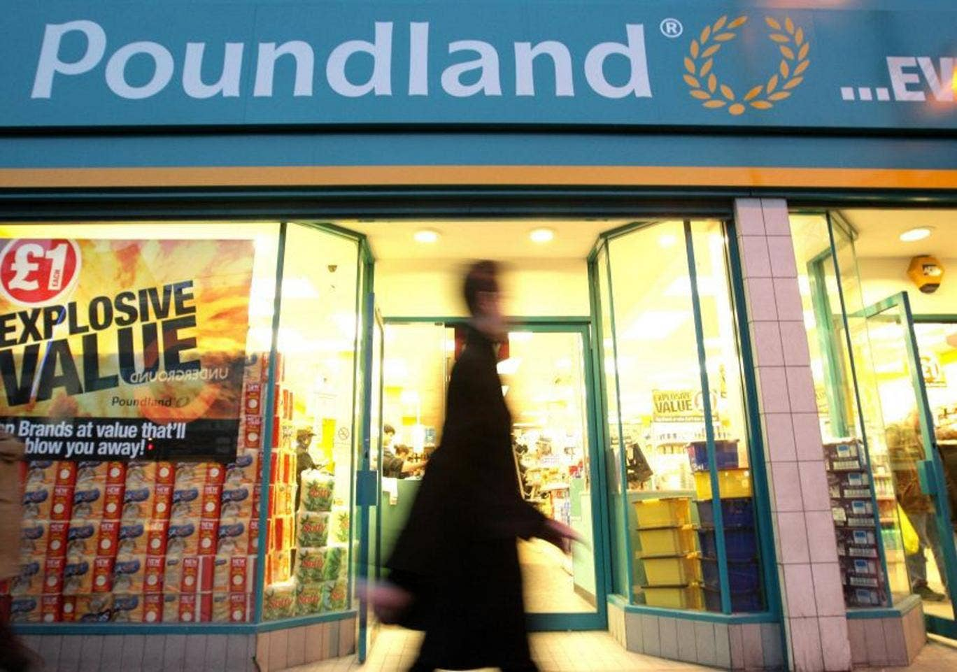 Poundland stores were at the centre of a legal tussle over the back-to-work scheme