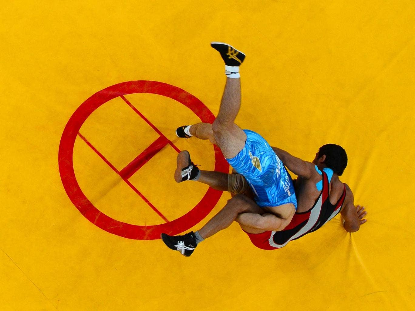 Wrestling at the London 2012 Olympics