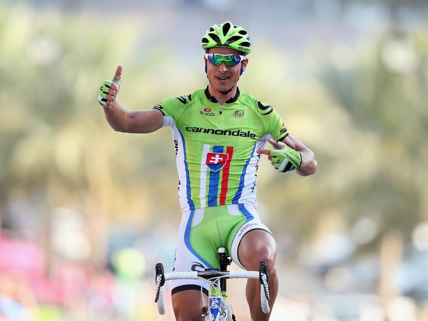 Peter Sagan on the Tour of Oman