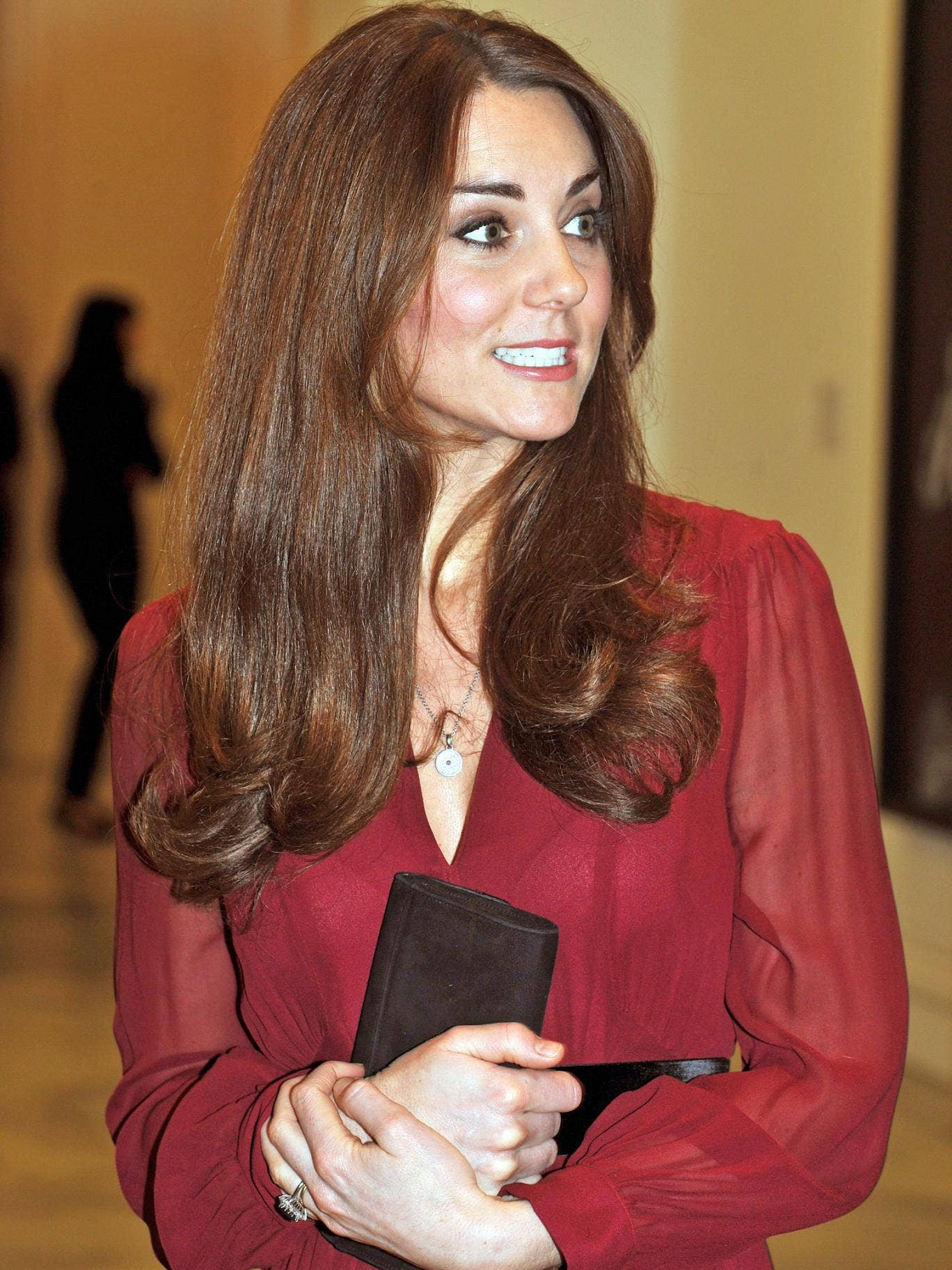 The Duchess of Cambridge is currently five months pregnant