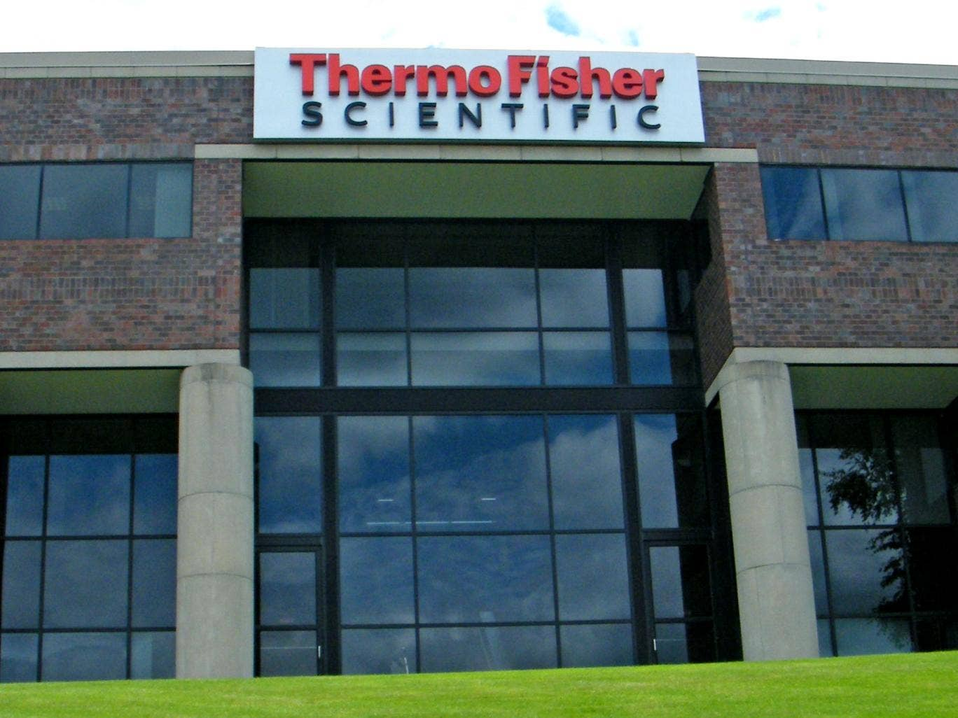 Thermo Fisher headquarters in Massachusetts
