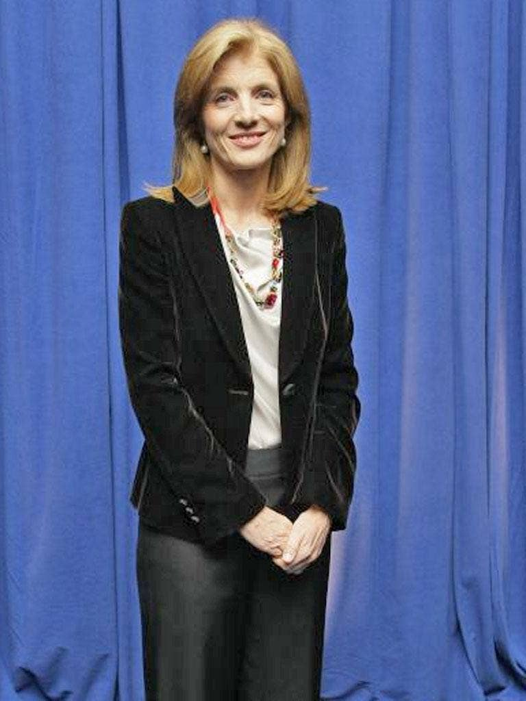 Caroline Kennedy, the daughter of John and Jackie