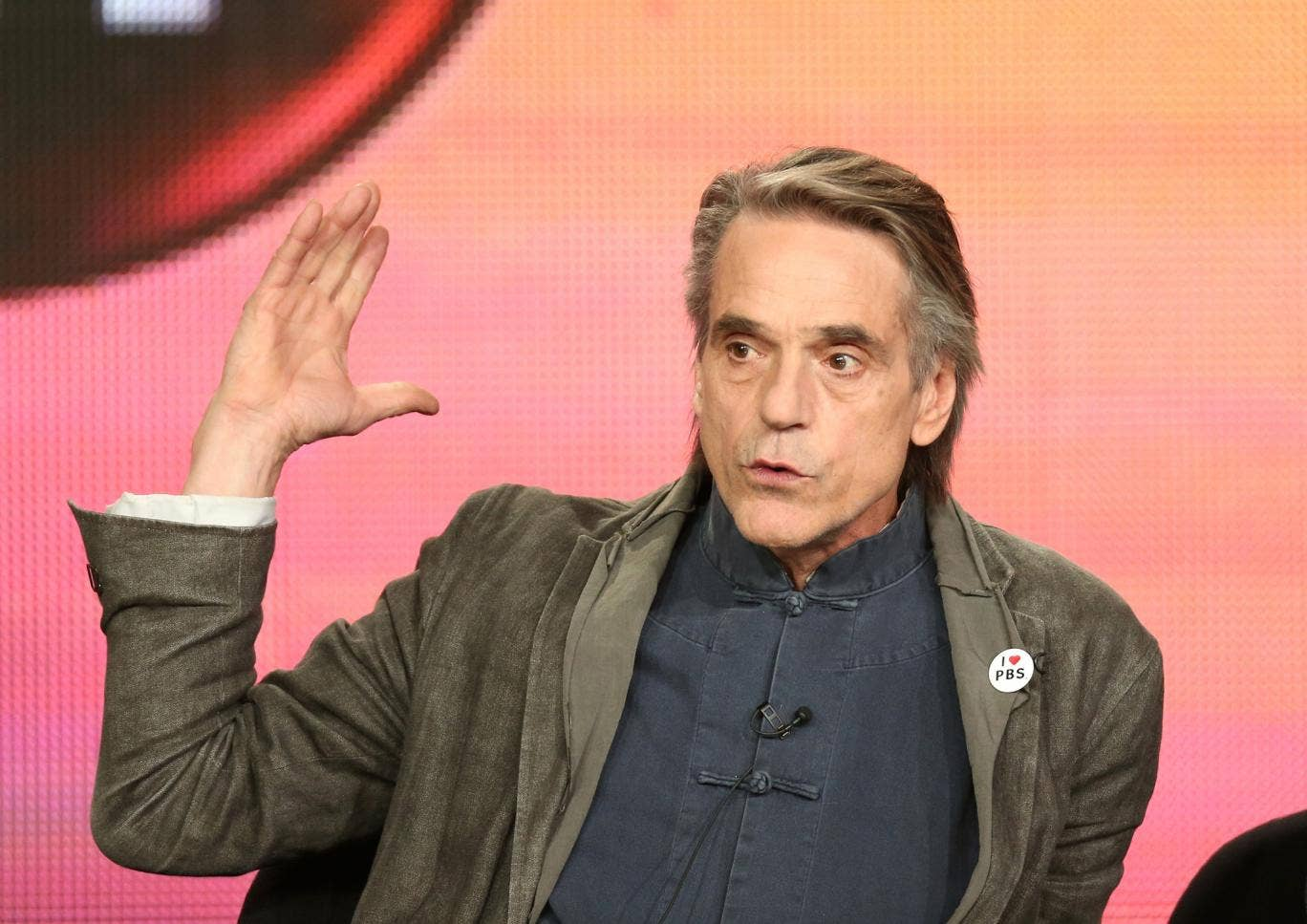 Jeremy Irons: 'I think we're very robust as human beings. I had people when I was younger trying to feel me up. Older men. I just told them to get lost.'