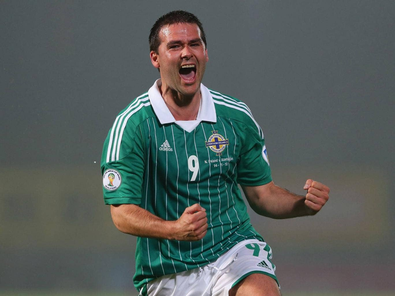 Norther Ireland international David Healy