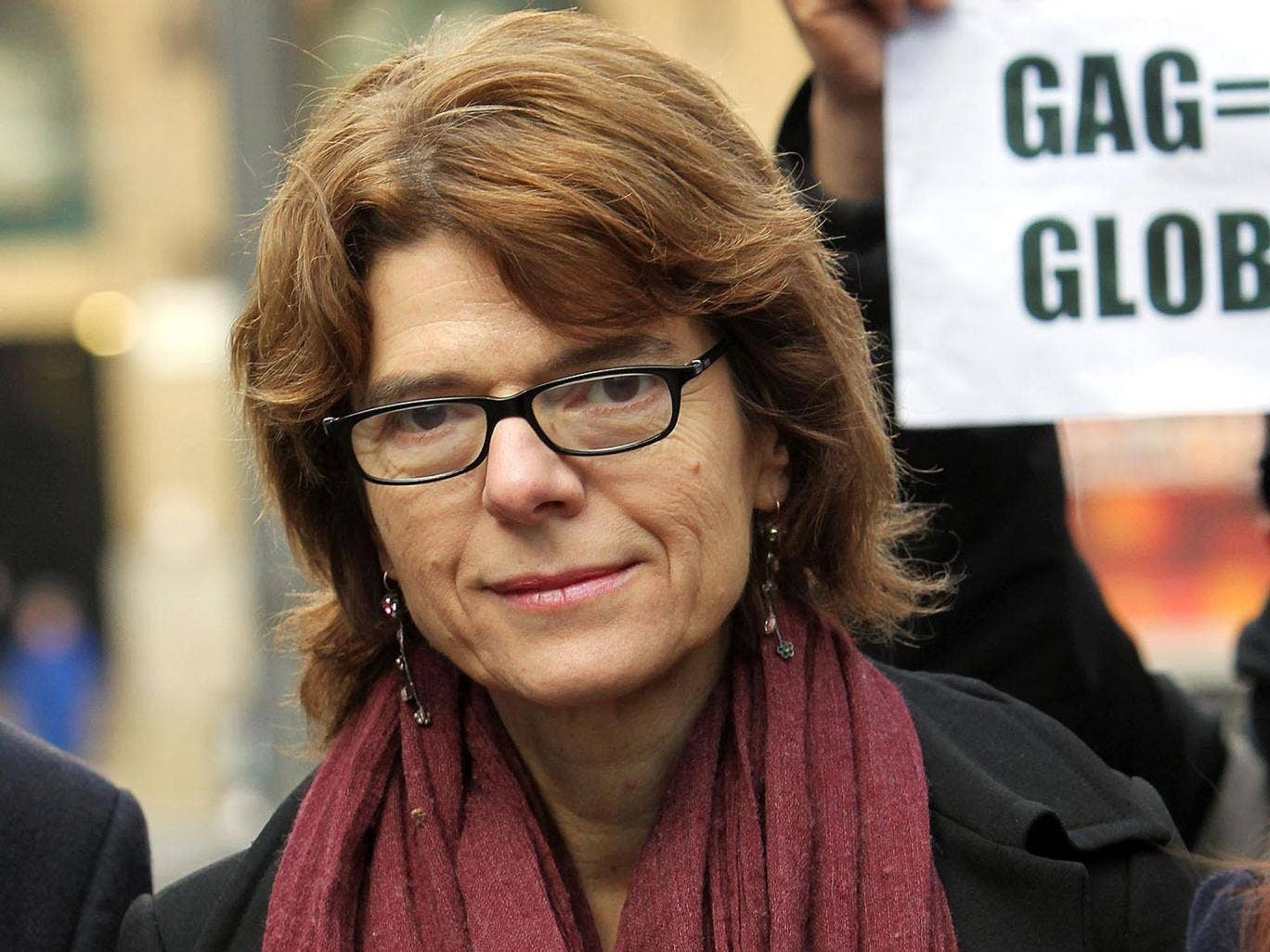 Vicky Pryce arrives at Southwark Crown Court today