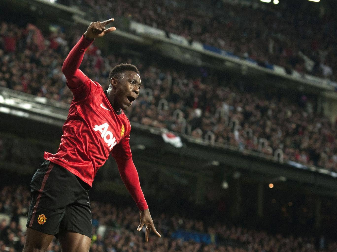 Danny Welbeck powered home the header that set United up for an encouraging 1-1 draw