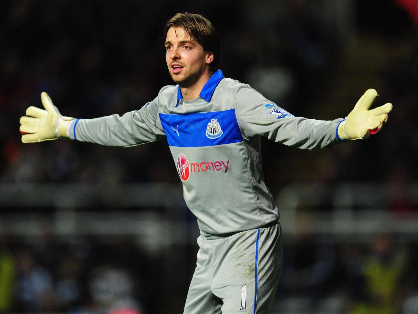 Goalkeeper Tim Krul admits he and his Newcastle team-mates have had a weight lifted from their shoulders