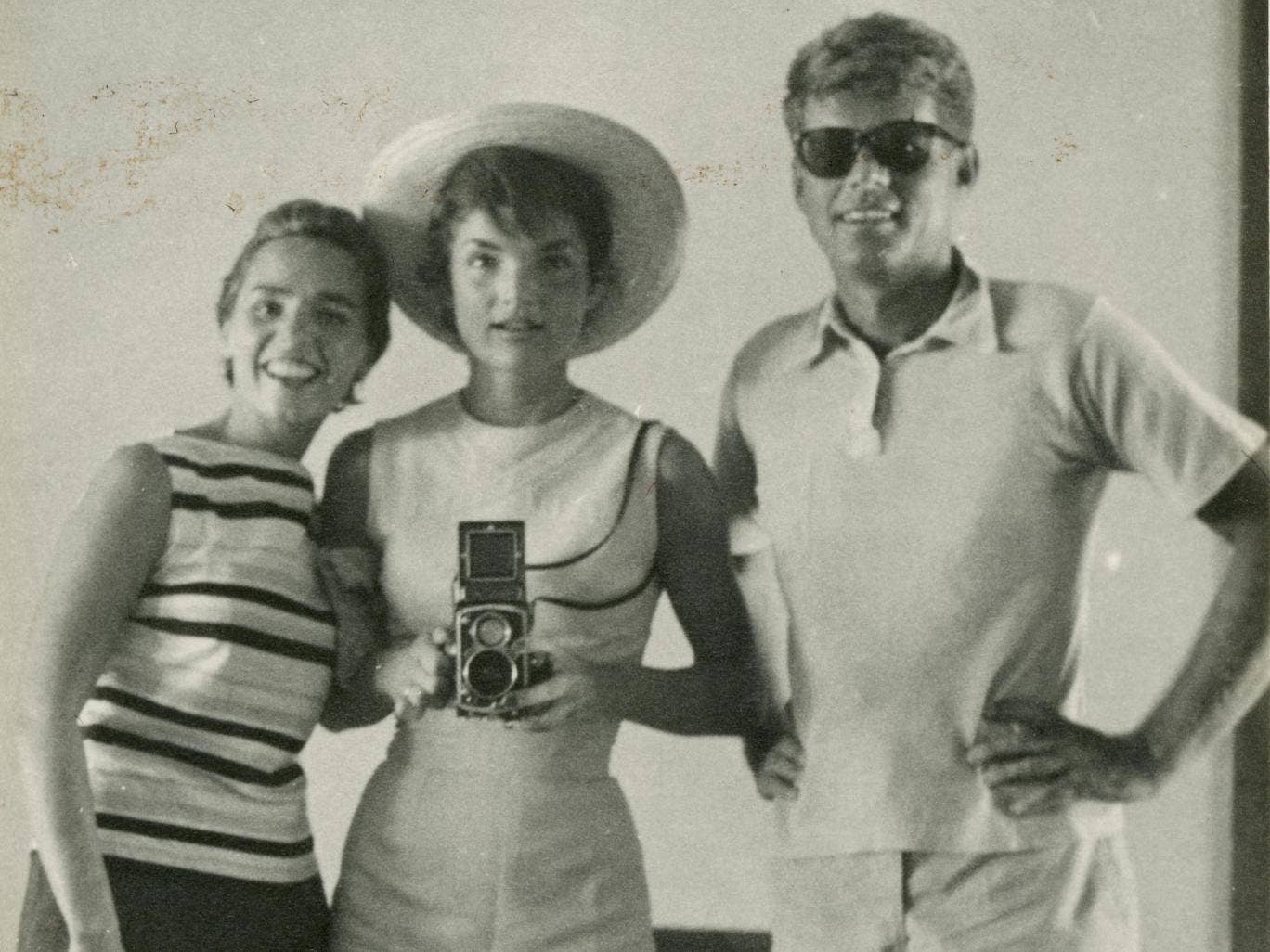More than 2,000 photographs and other items belonged to David Powers, a close friend of Kennedy's