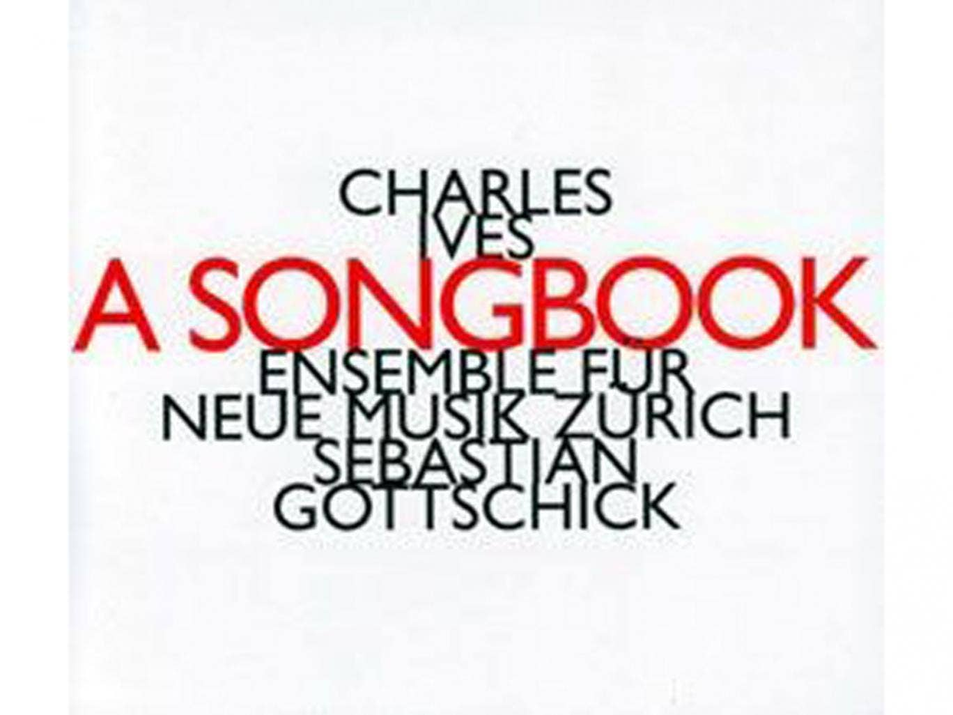 Charles Ives, A Songbook (hat(now)ART)