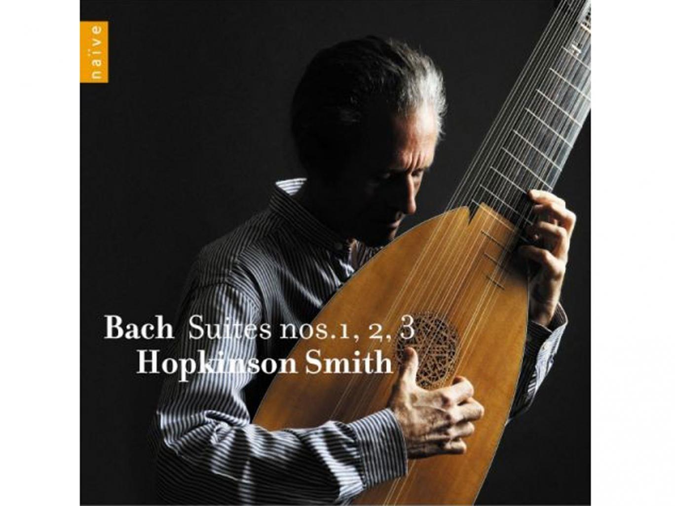 Hopkinson Smith, Bach: Suites Nos. 1, 2, 3 (Naïve)