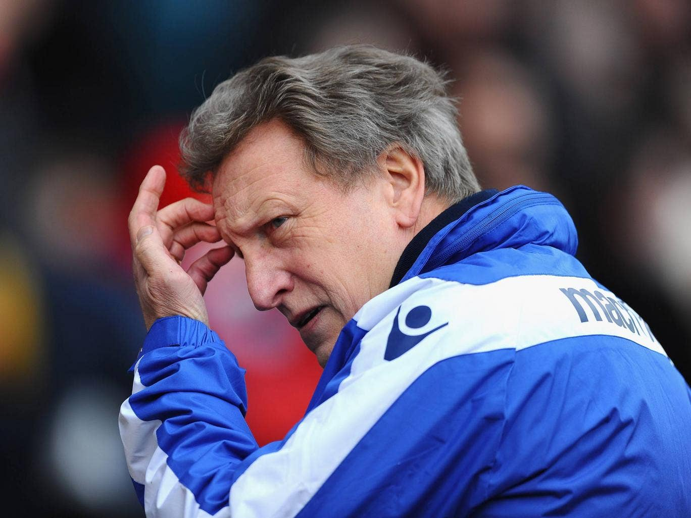 Leed manager Neil Warnock