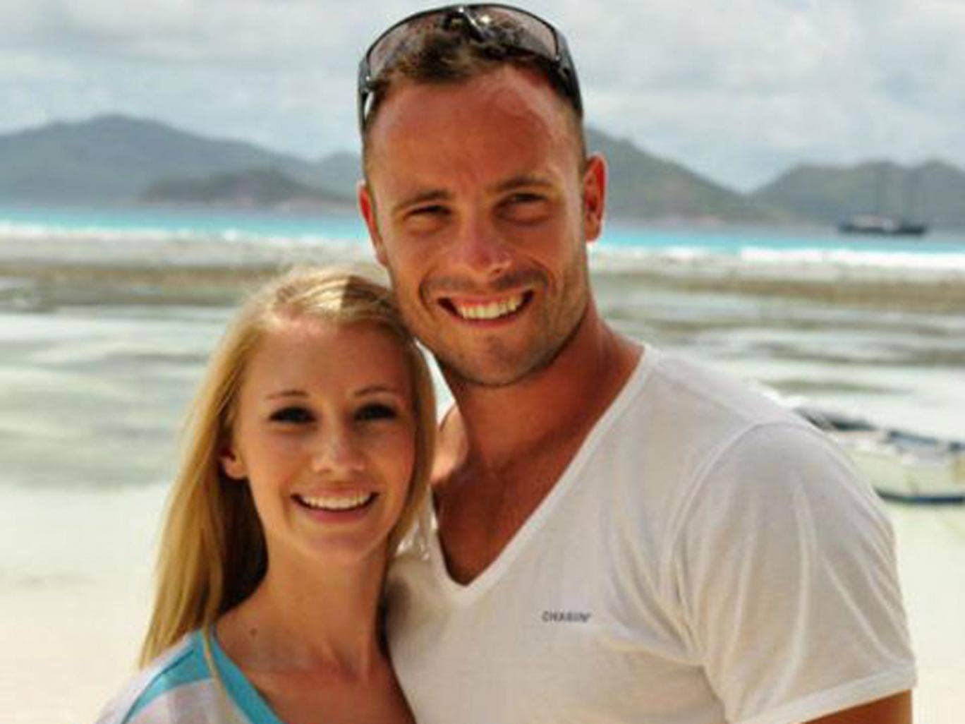 Oscar Pistorius and Samantha Taylor