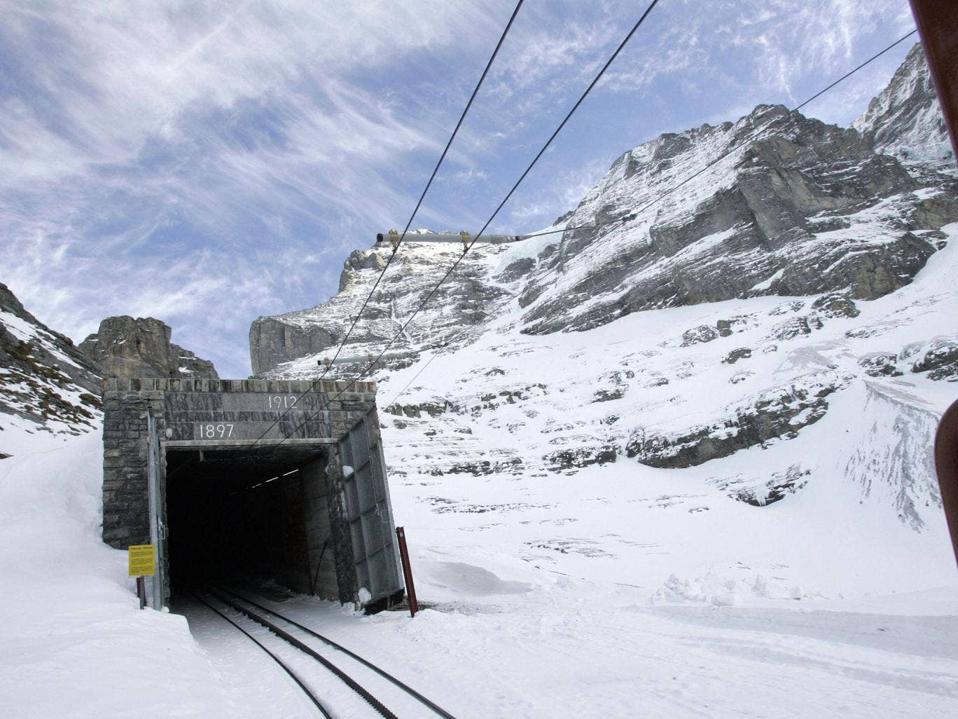 On track: Consider taking the train to the Alps