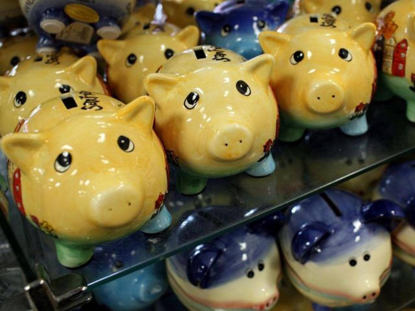 Regular savings accounts are not offering much more interest than piggy banks at the moment