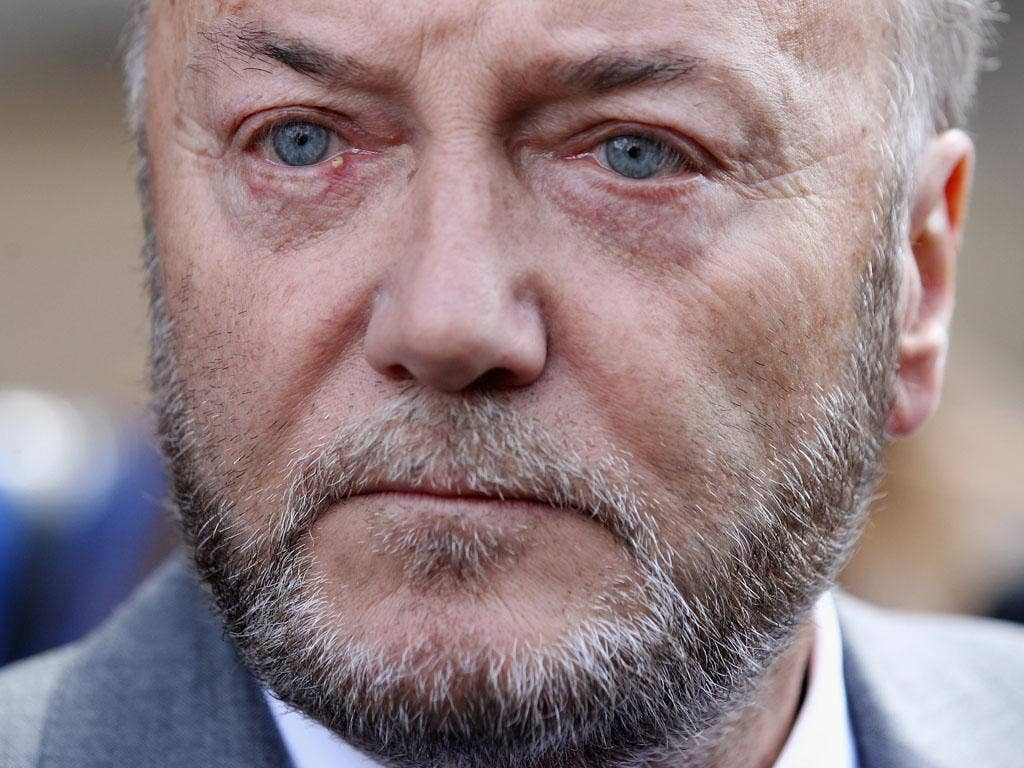 "Mr Galloway, who is the Respect party MP for Bradford West, had been speaking in the debate organised by Christ Church college in favour of the motion: ""Israel should withdraw immediately from the West Bank""."