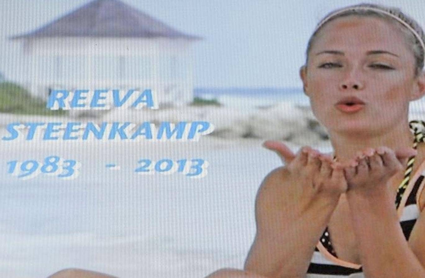 A tribute to model Reeva Steenkamp on reality show 'TIOT'