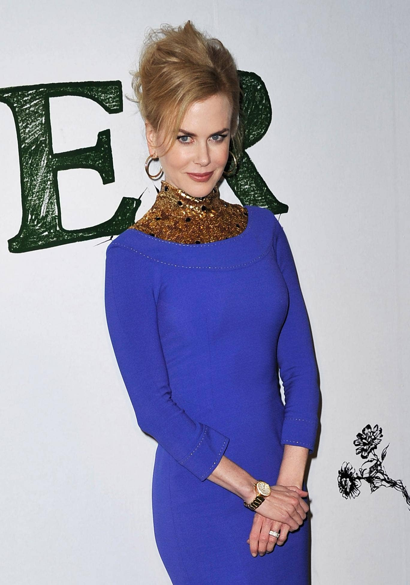 Nicole Kidman at the premiere of her new film Stoker