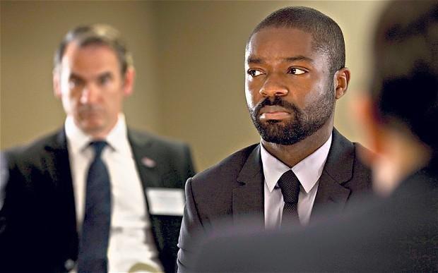 David Oyelewo stars as agent Edward Ekubo in Channel 4 drama 'Complicit'.