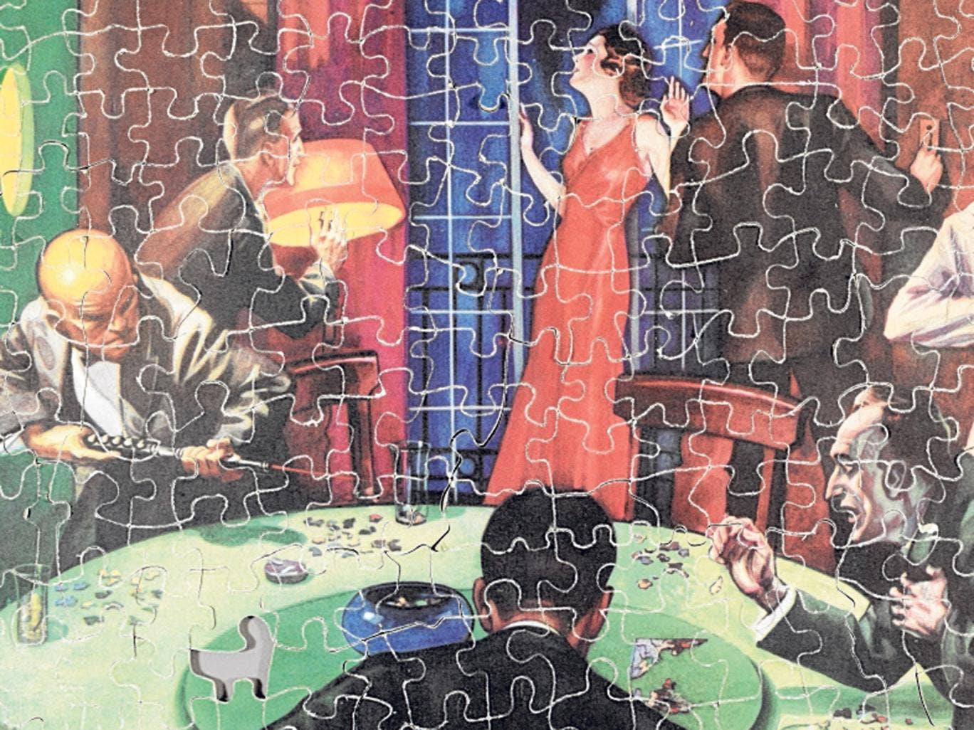 Thrilled to pieces: 'The Jigsaw Puzzle Murder' by Walter Eberhardt
