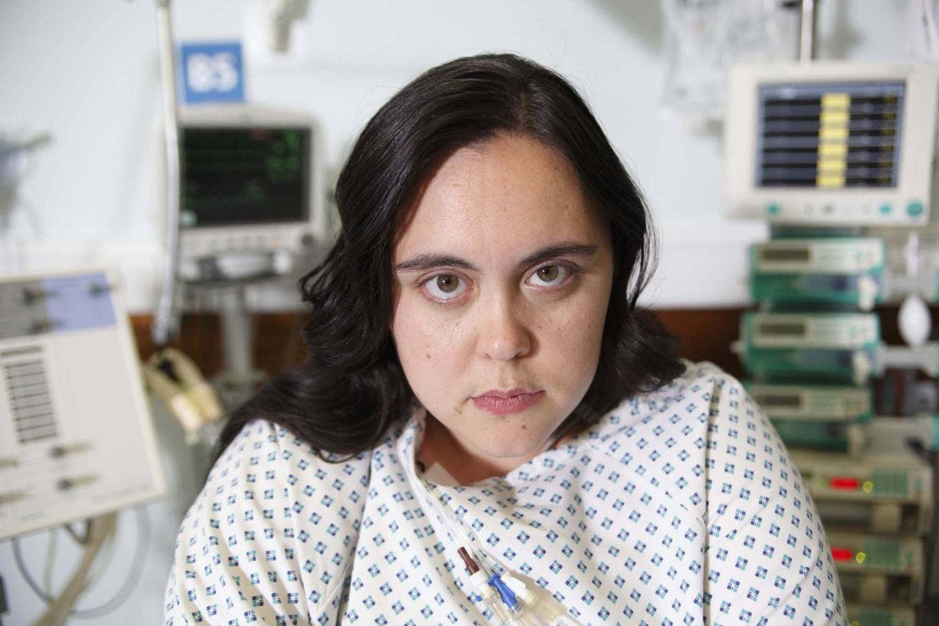 Actress Sharon Rooney who plays Rae Earl in 'My Mad Fat Diary'