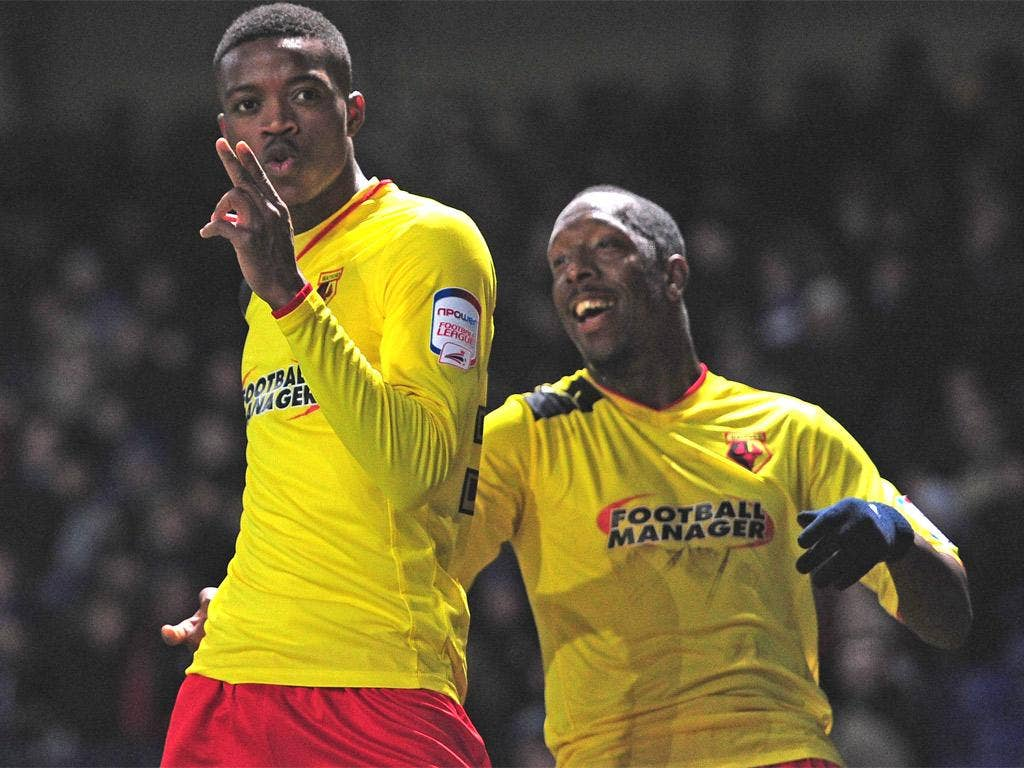 Nathaniel Chalobah scored Watford's second