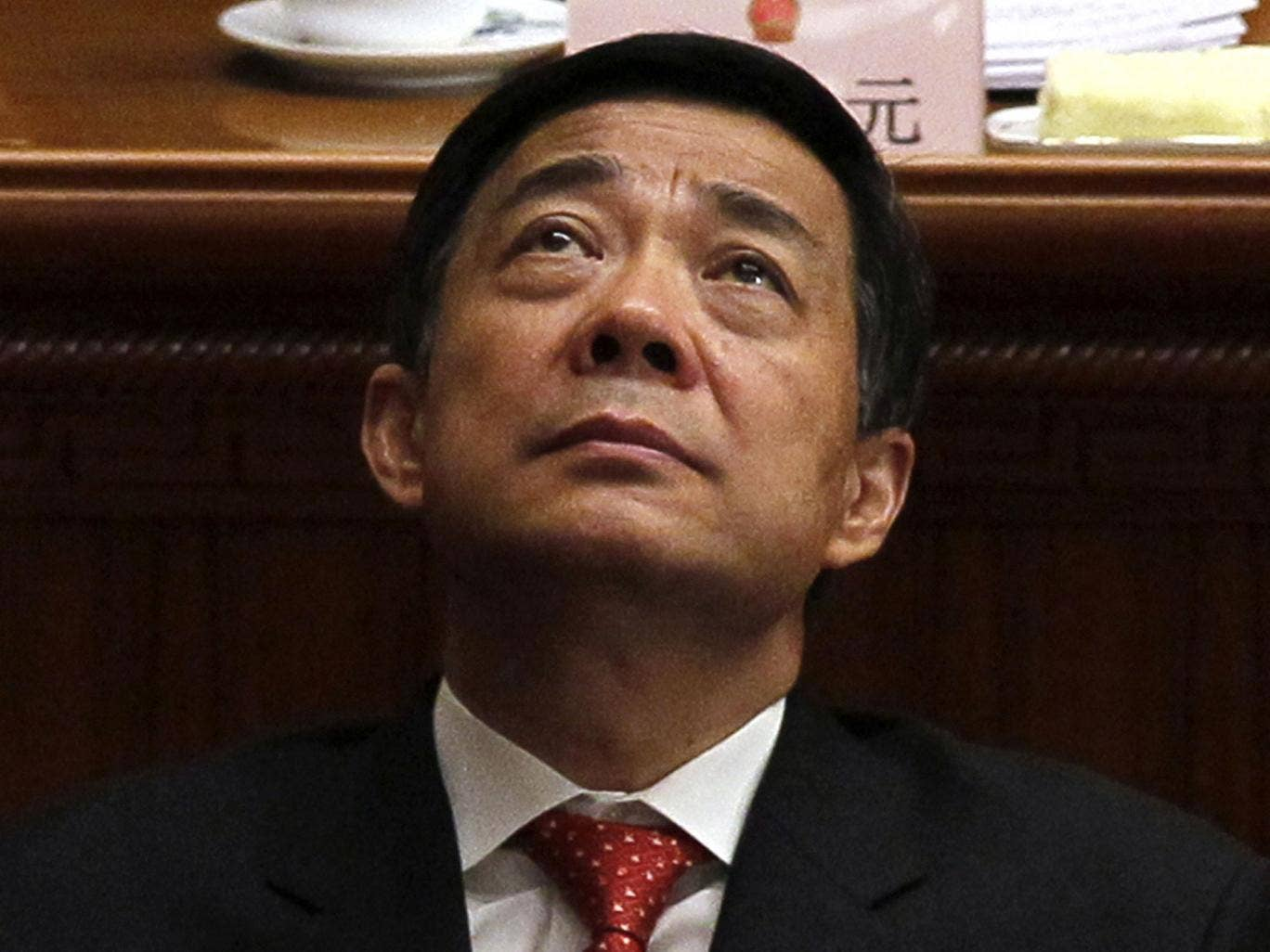 Bo Xilai has reportedly been refusing to eat or shave in protest