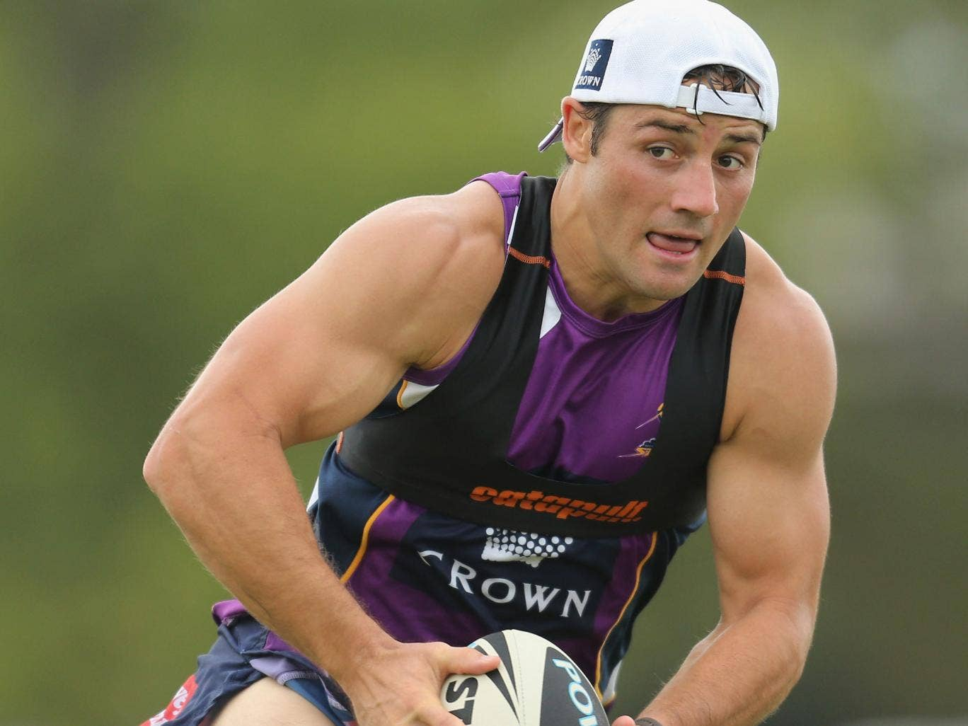 Cooper Cronk: 'British teams are thought to be more physical,' says the Storm half-back
