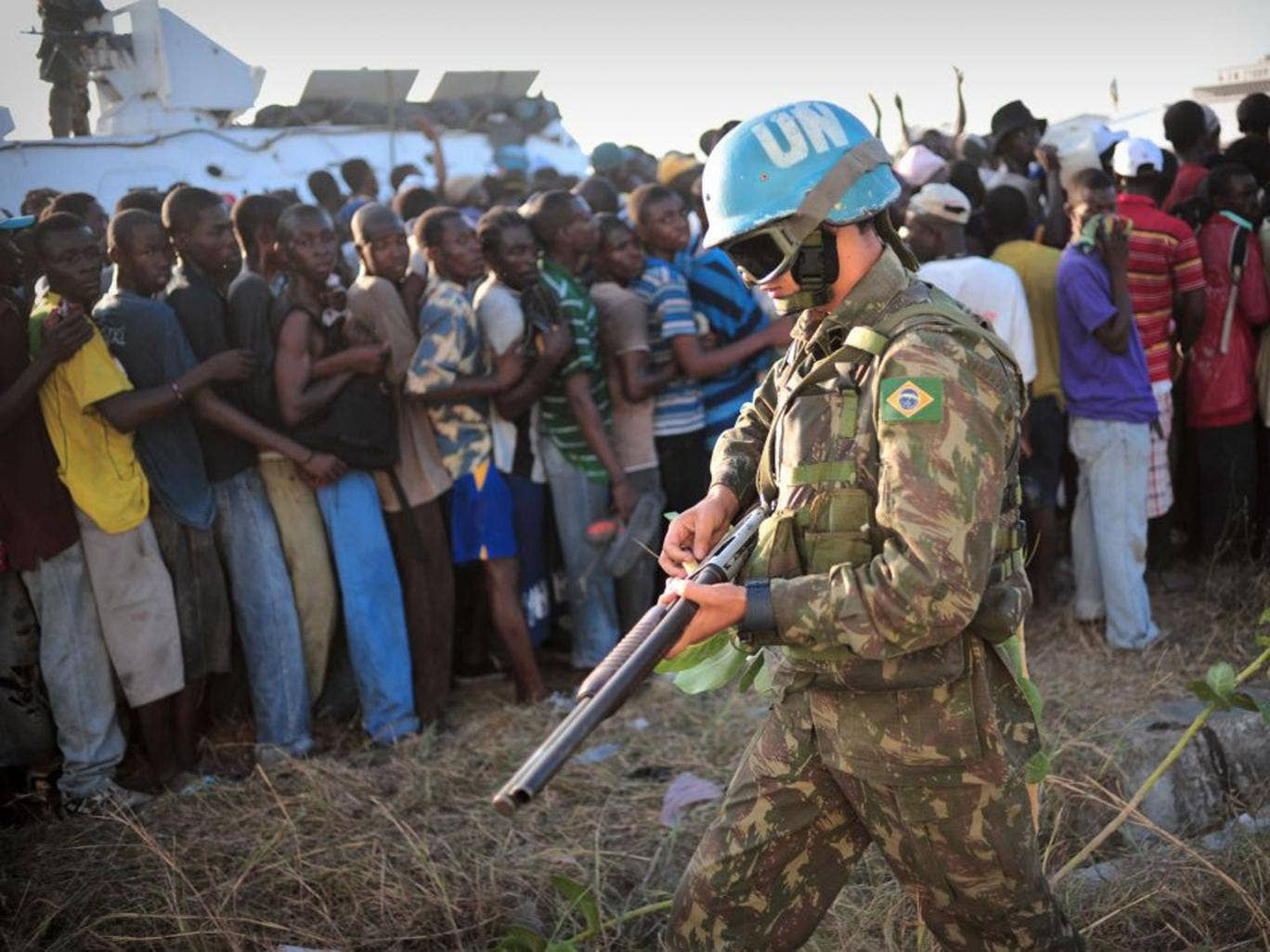 Nepalese peacekeepers who arrived in 2010 are widely believed to have  brought the disease to Haiti