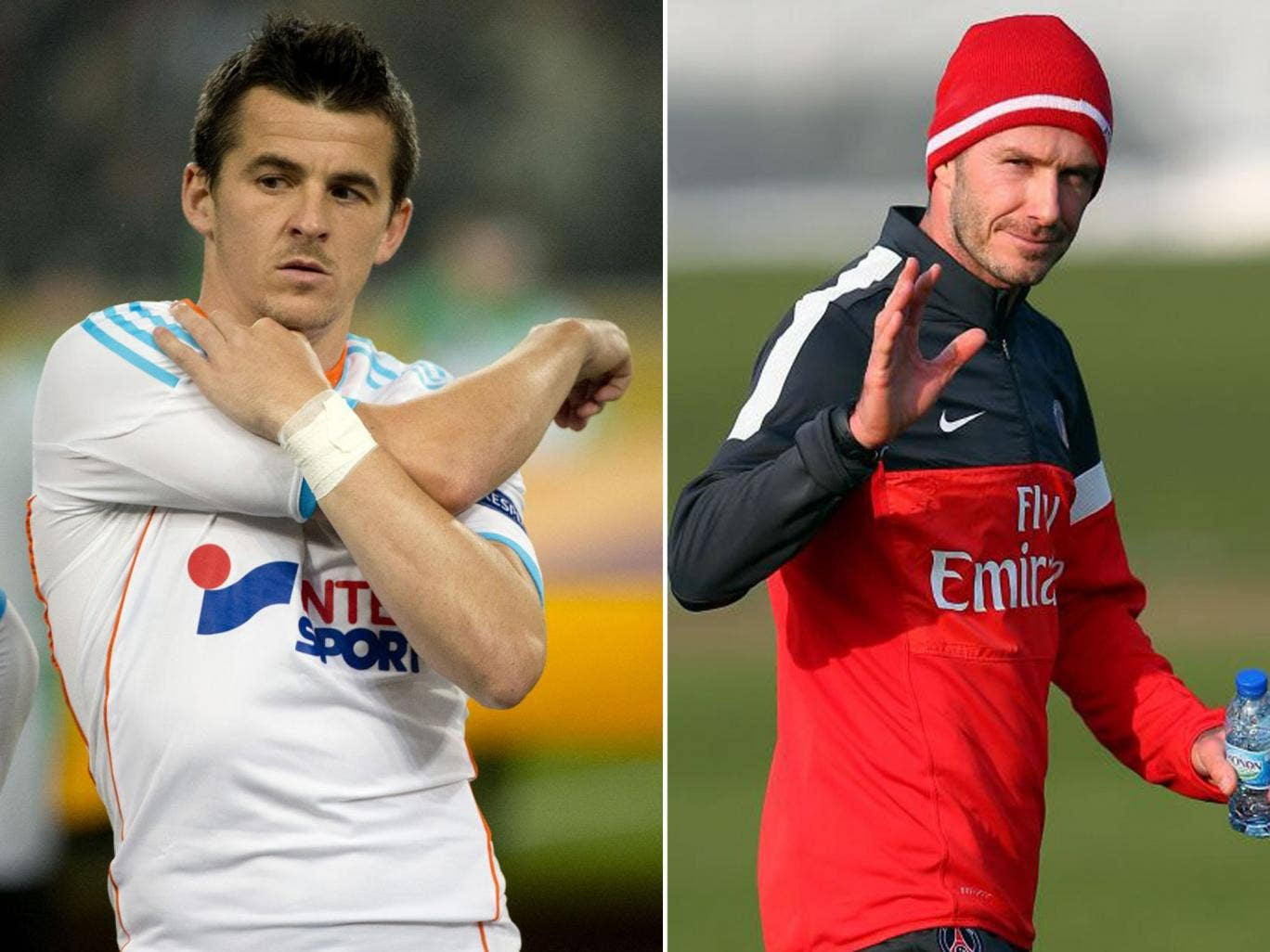 David Beckham and Joey Barton, hero and villain, may not be so different – at least they have ventured afield