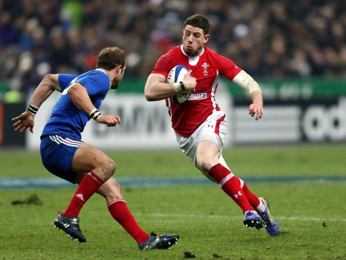 Winger Alex Cuthbert is a part of an unchanged Wales side in Rome