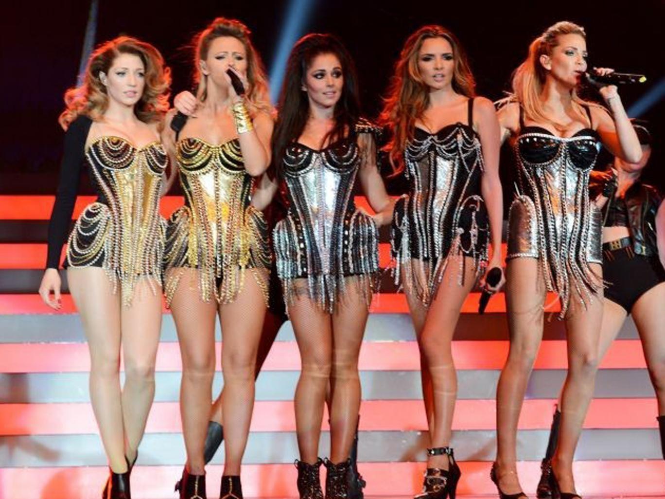 From left: Nicola, Kimberley, Cheryl, Nadine and Sarah