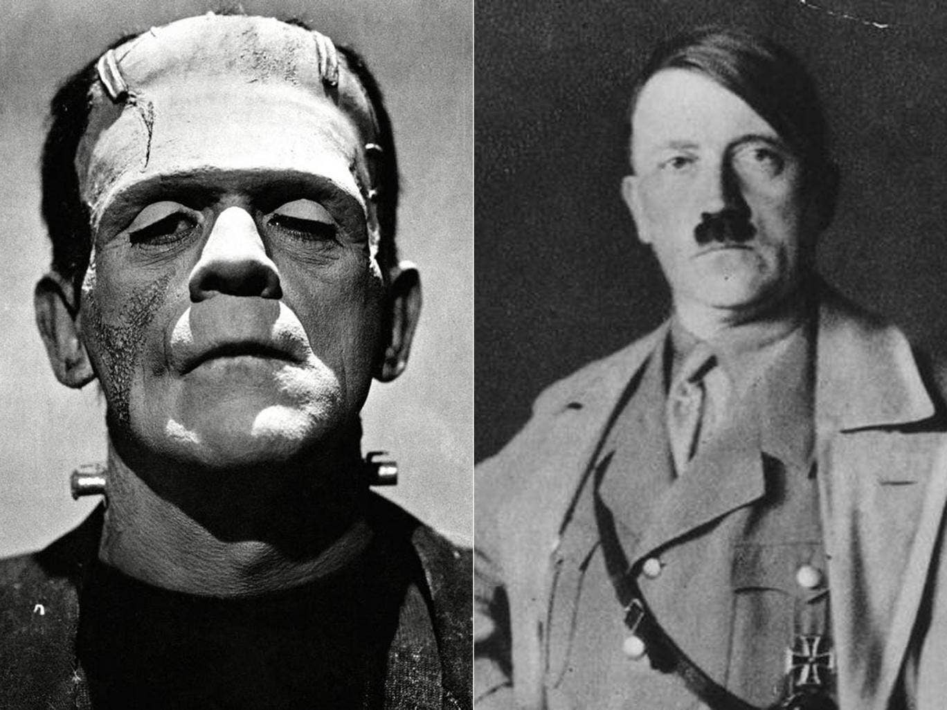Among the options for voters in the forthcoming elections are Adolf Hitler or and Frankenstein.