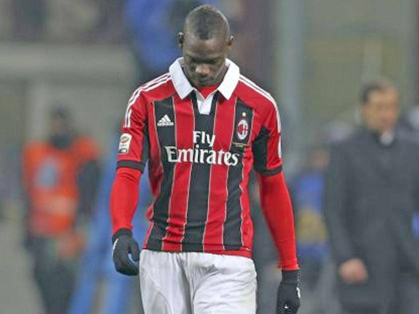 Mario Balotelli was abused by Internazionale fans
