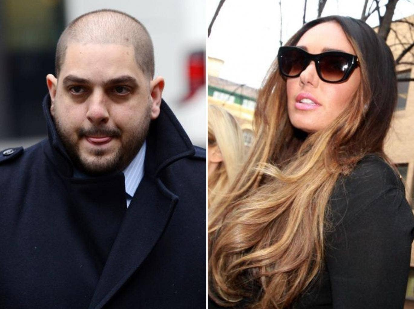 Derek Rose (left), the former fiance of Tamara Ecclestone (right), has been found guilty of blackmailing her