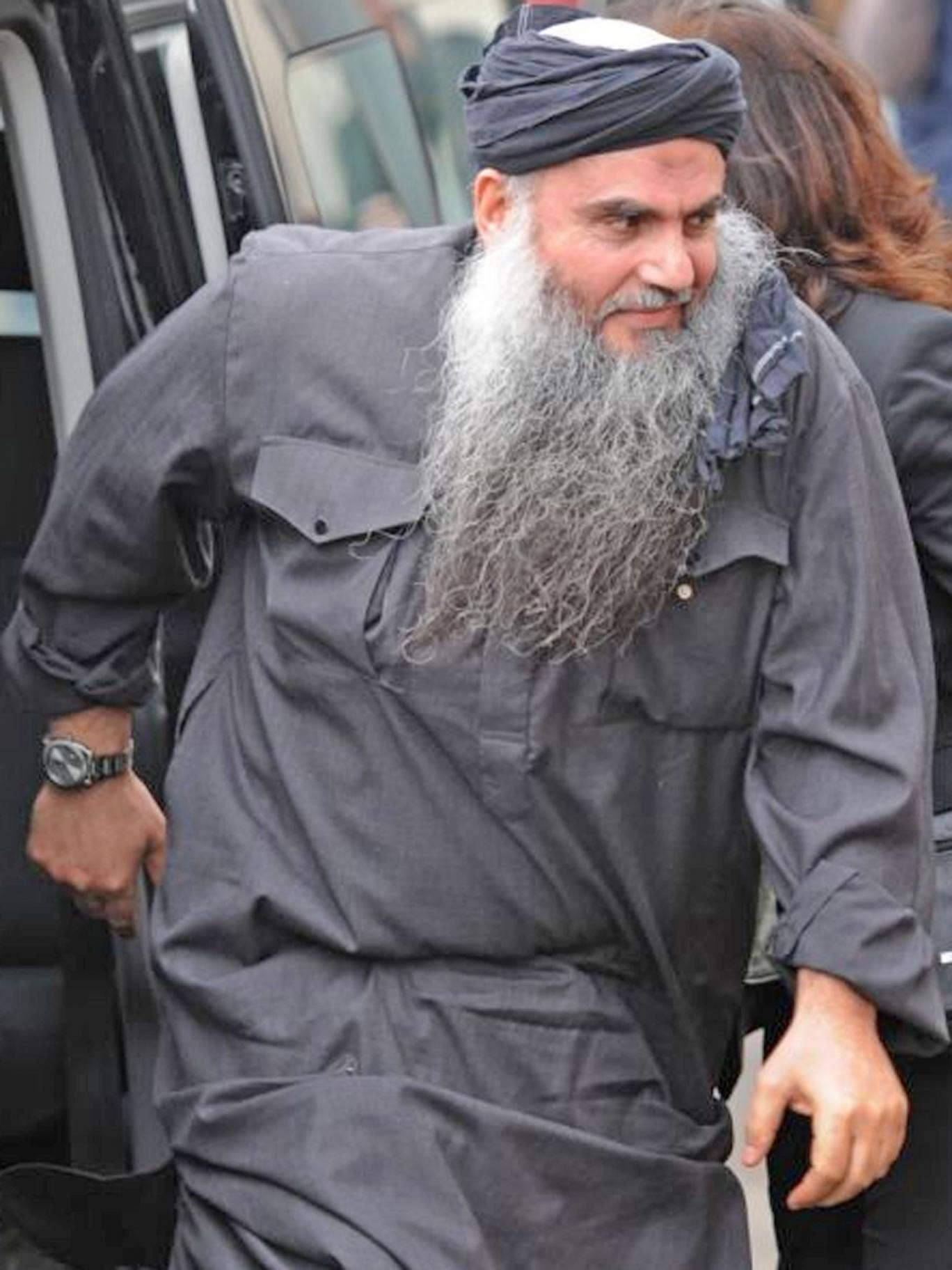 The family of the radical preacher Abu Qatada has won an injunction preventing protesters from demonstrating outside their home