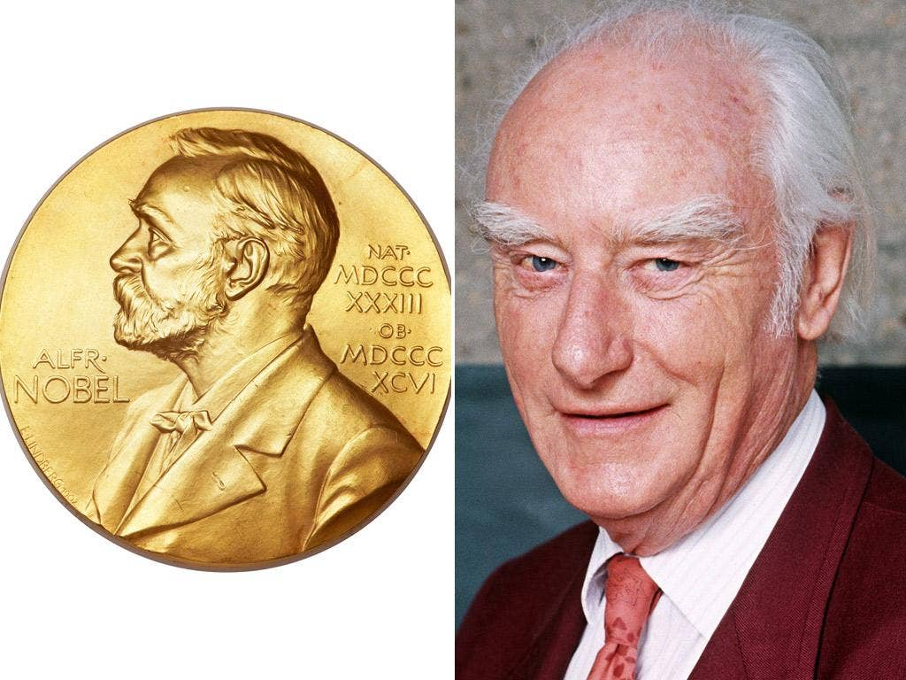 Biophysicist Francis Crick was awarded the Nobel Prize in 1962