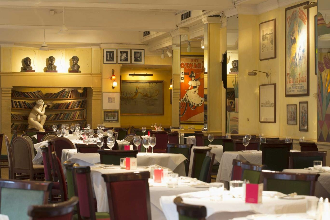 Timeless glamour: Langan's has been discreetly updated but is still pleasantly familiar