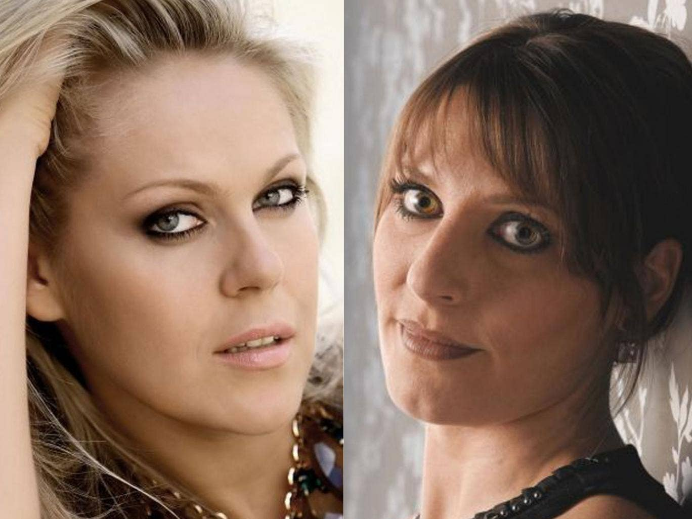 Amanda Echalaz (right) and Kristine Opolais (left) take on the role of Tosca in turn at the Royal Opera House