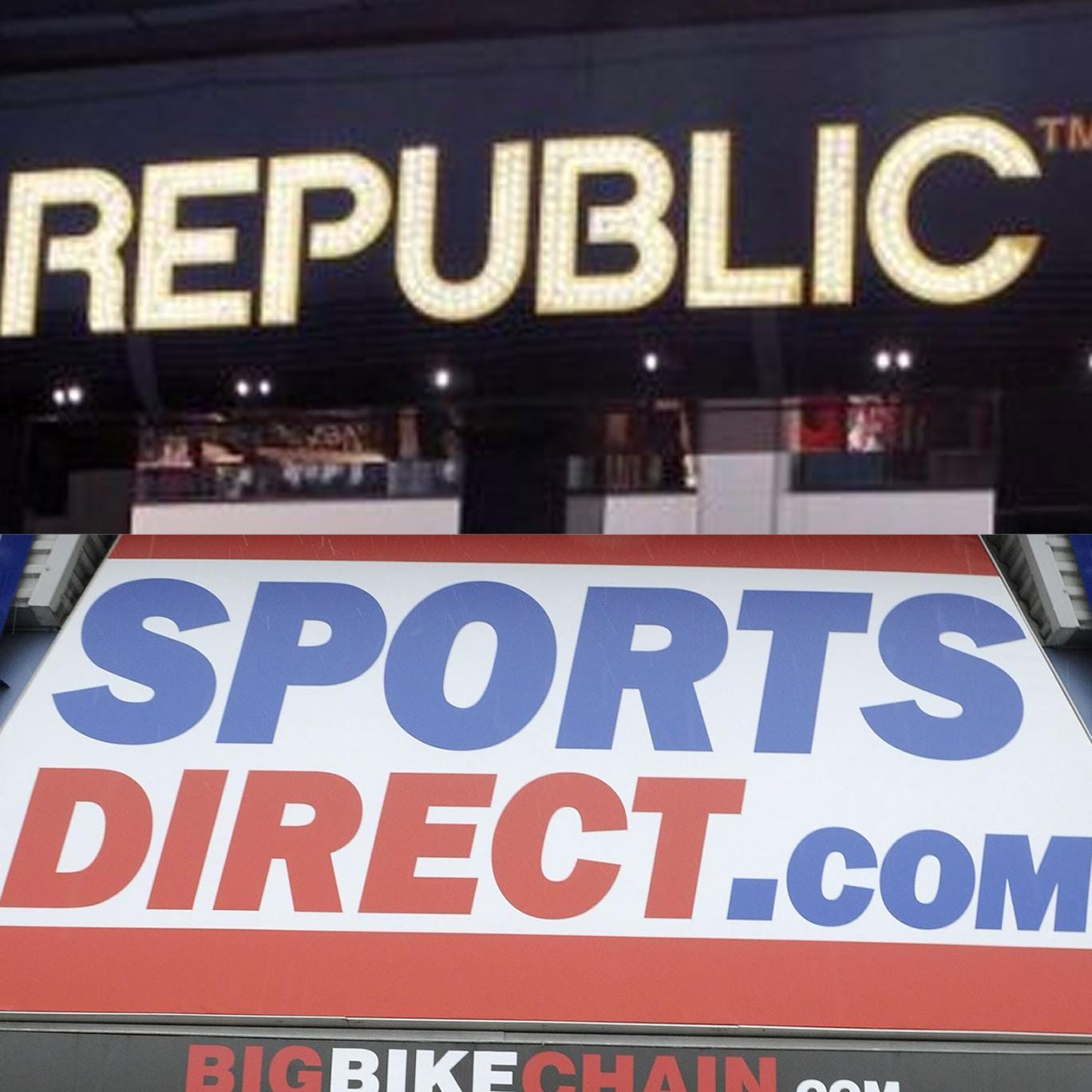 Sports Direct International bought high street chain Republic from administrators