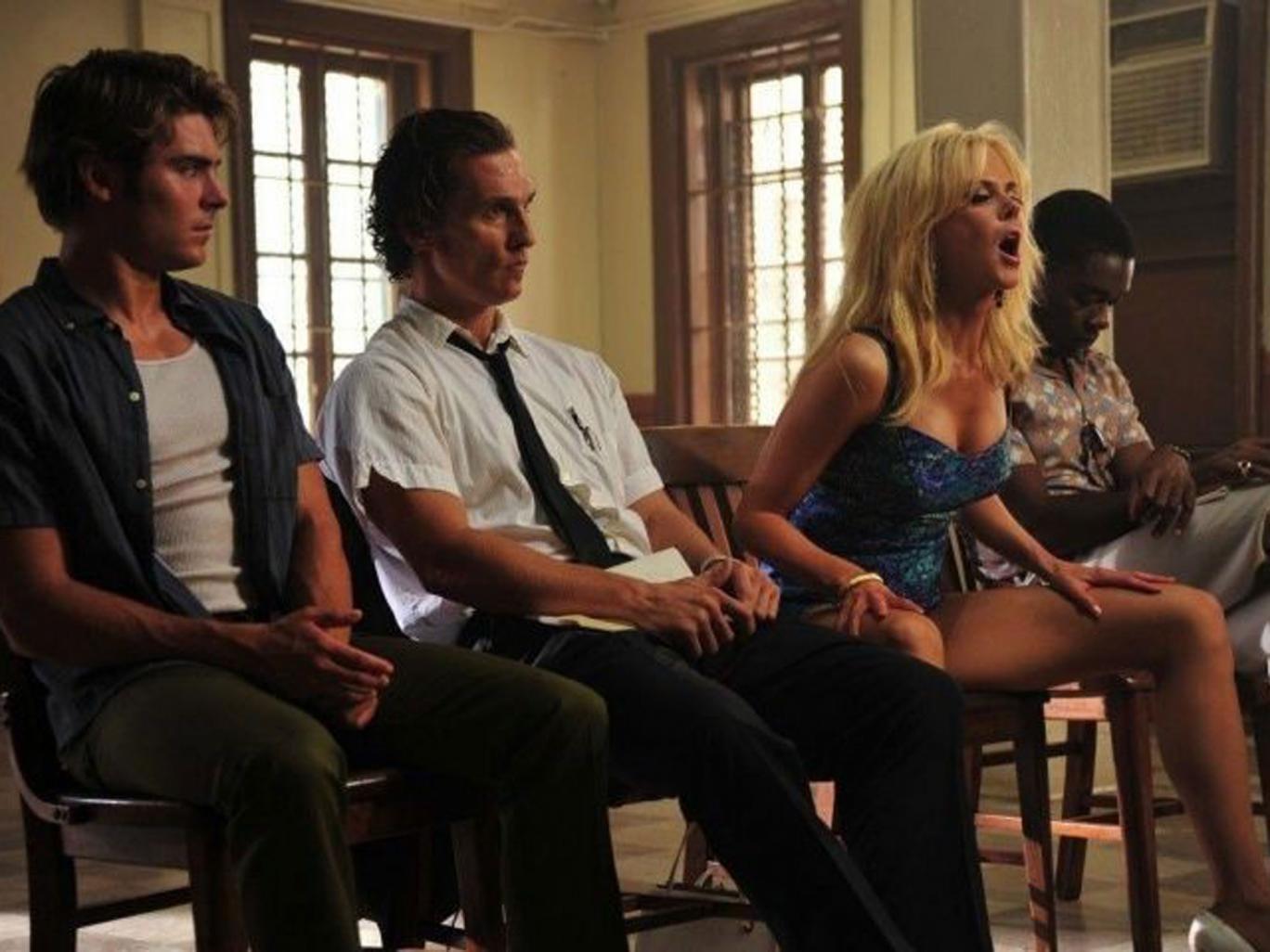 Inmates:  Zac Efron, Matthew McConaughey, Nicole Kidman and David Oyelowo in 'The Paperboy'