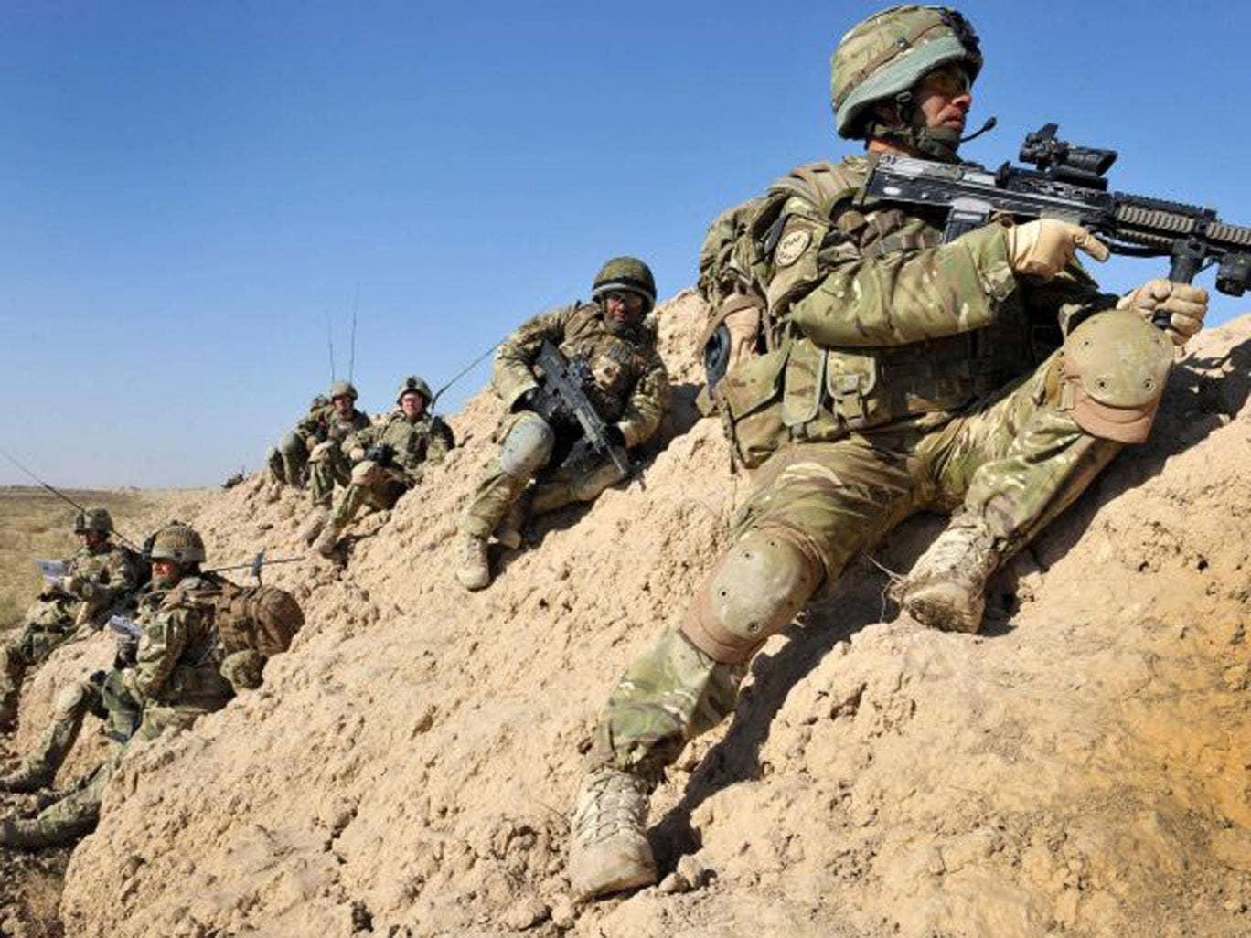 British soldiers in direct combat roles will not be asked to serve an extra three months in Afghanistan