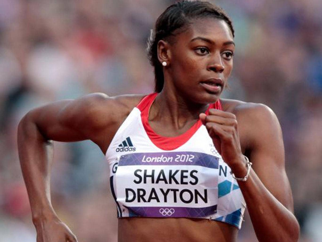 Perri Shakes-Drayton, 400m: The 400m hurdler is in great shape on the flat.