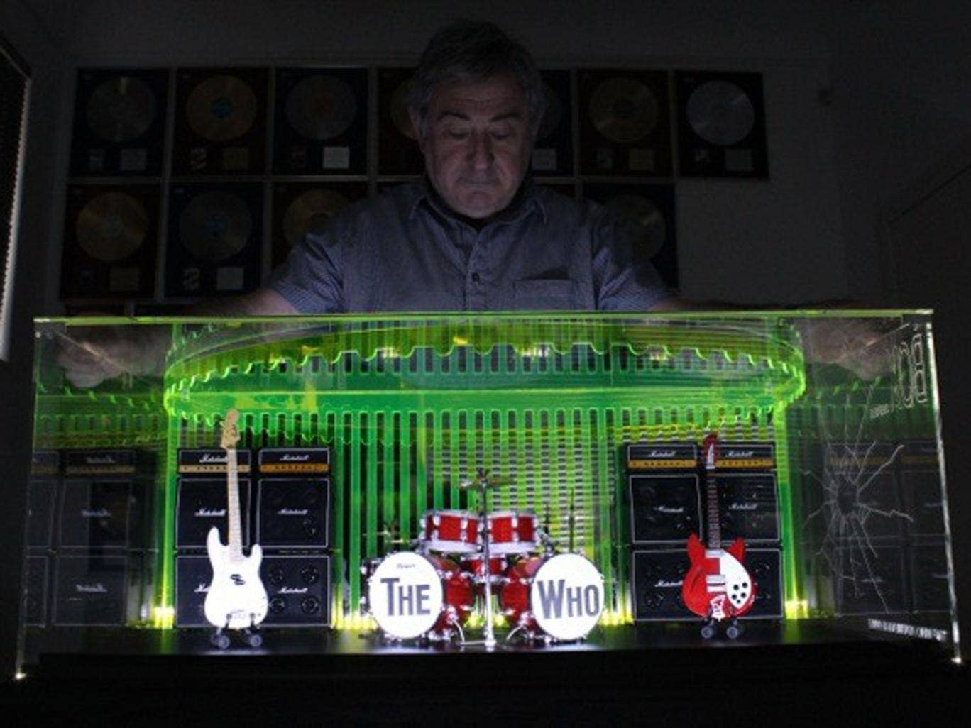 The box set – re-creating The Who's 1964 gear