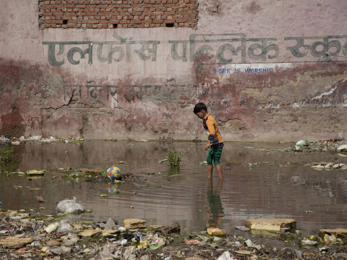 Poverty and poor sanitation are key factors in the spread of the disease
