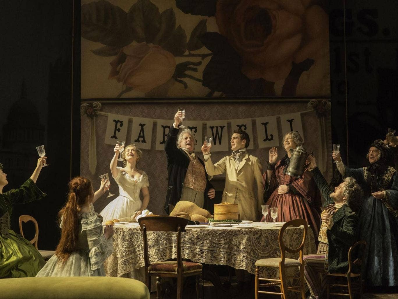 Joe Wright's affectionate Trelawny of theWells at the Donmar